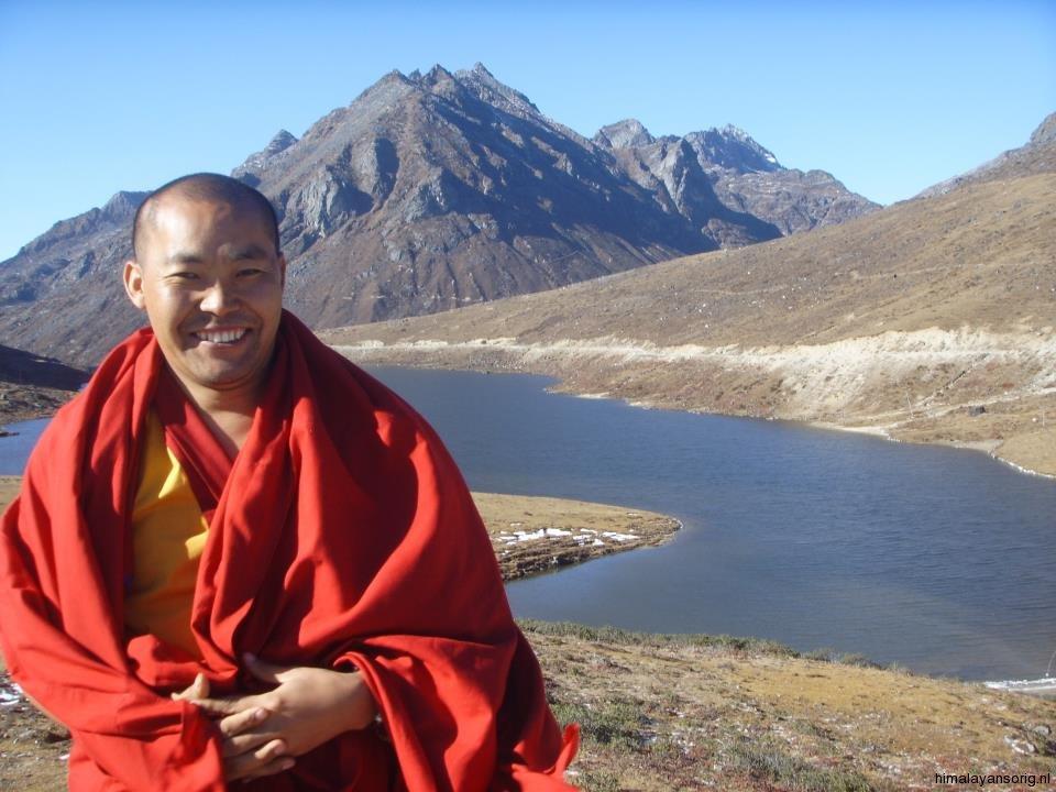 Lama Jampa in de bergen