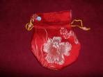 Malatasje -Rood, bloem patroon1, Groot-